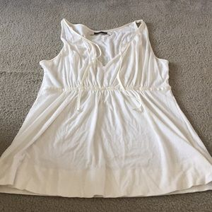 American Eagle Outfitters cream tank top